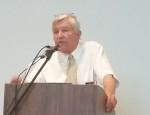 Town Moderator Richard Sheppard